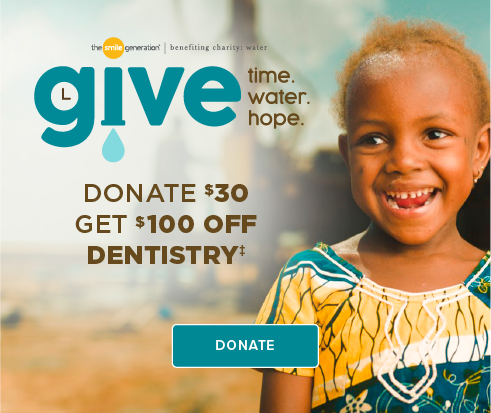 Donate $30, Get $100 Off Dentistry - Meridian Smiles Dentistry and Orthodontics